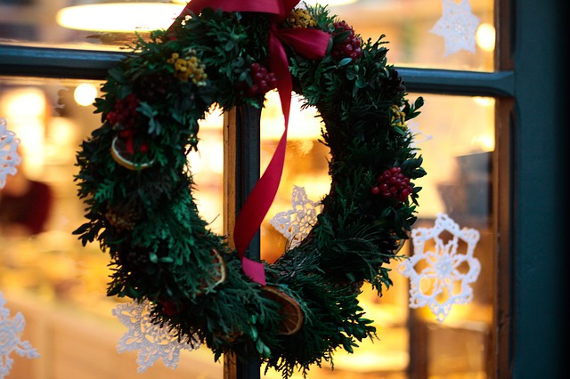 Holiday Door and Window Decorations